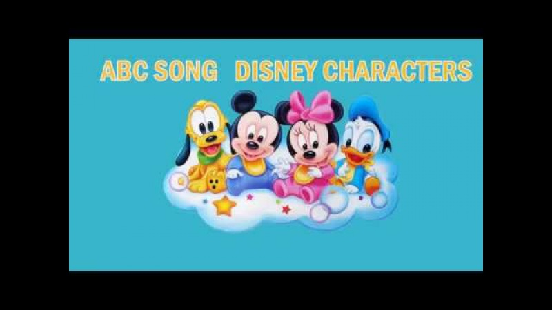 Abc song for children | Mickey Mouse song for kids | Nursery Rhymes for Kids