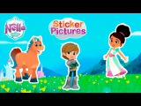 Nella the Princess Knight and Friends Sticker Pictures  Fun Videos For Kids