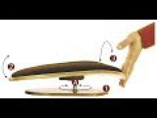 Лечение позвоночника, вертебрология Сиденье тренажер «СпинаОК»
