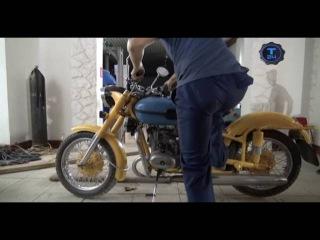 Реставраторы/Патрульный мотоцикл М-63/часть 2