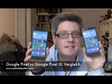 Google Pixel vs Google Pixel XL Vergleich