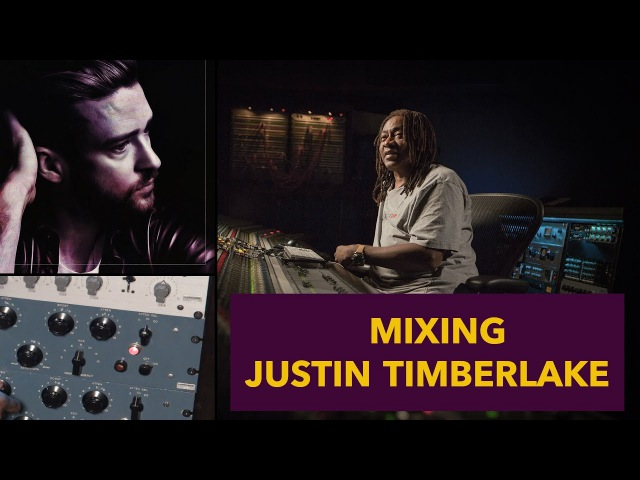 Mixing Justin Timberlake Vocals - Jimmy Douglass