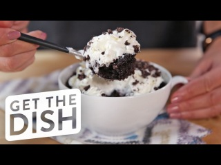 Oreo Mug Cake | Get the Dish