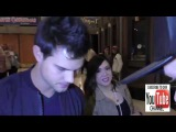 Taylor Lautner talks about doing another Shark Boy outside The Pantages Theatre in Hollywood