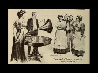 Альберт Бензлер- девочки из Америки (запись 1907, выдано 1908)