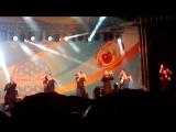 Подтанцовка фестиваля народной песни Надежды Бабкиной