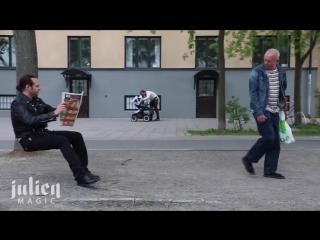 [Пранк] Невидимый стул