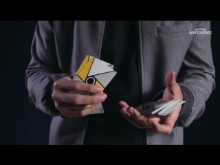 Эти парни потрясающе владеют колодой карт