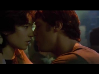 Gay kiss from the movie Every Day with ezra miller