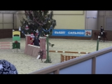 Шестова Мария на Белой Акации, конкур на стиль прыжка