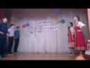 Танец Русский кадриль танцует 9а класс