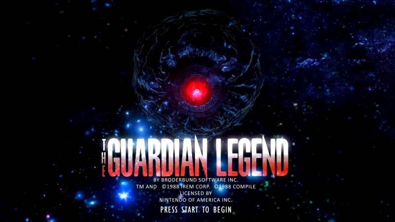 The Guardian Legend: Legacy (HD Remake NESgame)