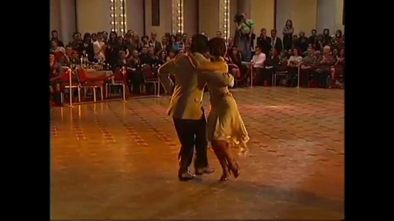 Танго-Канженге. Юлия Зуева и Алексей Барболин
