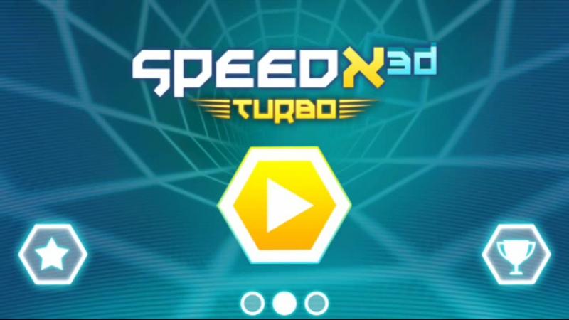 SpeedX 3D ЛЁТАЕМ