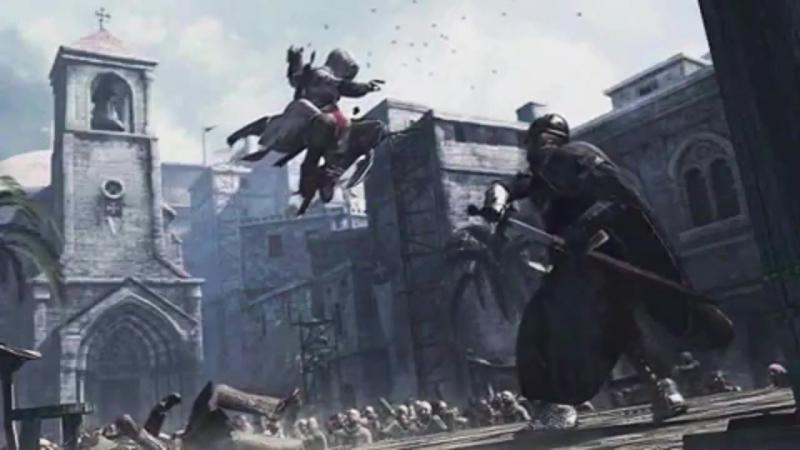 Клип Assassins Creed (3 части игры AC1 AC3 ACBF)