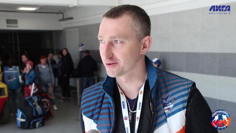 Денис АВИЛОВ - главный тренер команды Акулы 2006