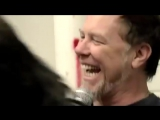 Metallicas James Hetfield and Kirk Hammett - Moth into Laugh (LaughCover)