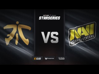 fnatic vs Natus Vincere, overpass, SL i-League StarSeries Season 3 Finals