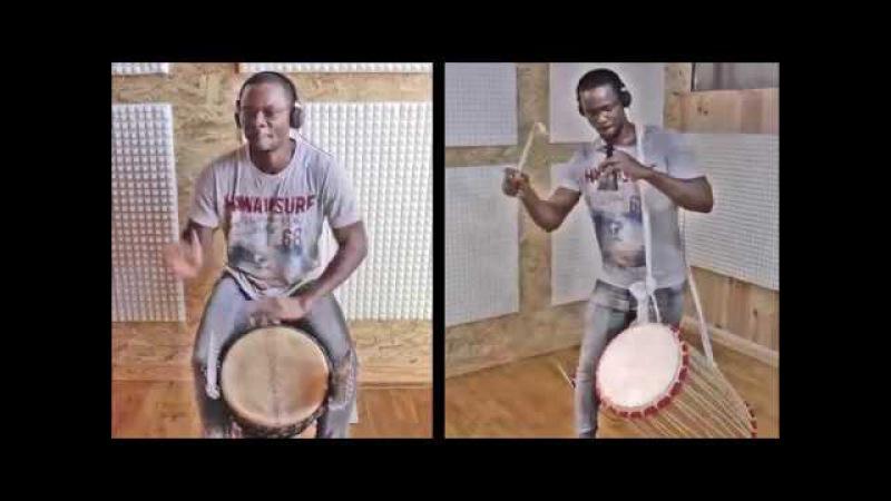 Madou Konaté djembé demonstration sandiya rhythm