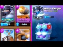 4 NEW CARDS - Upgrade with FREE GEMS! Clash Royale MEGA KNIGHT and MORE!