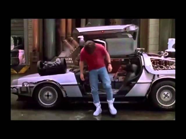 Назад в будущее Nike выпустит кроссовки Марти Макфлая Back to the Future 2