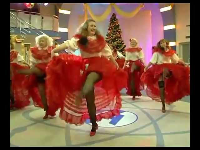 Танец Кан-Кан, Старый Новый 2013 Год празднует Гармония