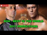 ROH Best in the World 2017 ROH World Championship Christopher Daniels  vs. Cody Predictions WWE 2K17