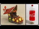 ❣DIY Boot Fairy House Lamp Using Coke Plastic Bottle❣