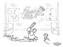 Fanny cartoons Versus Jason (fryday 13th) vs Elton John