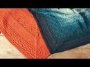 Платок-шаль со средней линией. Спицами. Експресс МК. Схемы узоров.