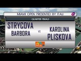 Barbora Strycova VS Karolina Pliskova MIAMI OPEN Quarter-Final