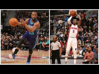 Kemba Walker (34 Pts) and Kentavious Caldwell-Pope (33 Pts) Duel in Detroit   02.23.17 #NBANews #NBA