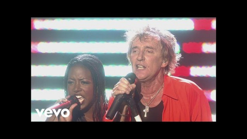 Rod Stewart Some Guys Have All the Luck Addicted to Love from One Night Only