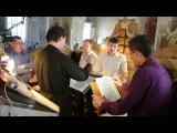 Мужской хор Богоявленского собора. 4 песнь Пасхального канона .