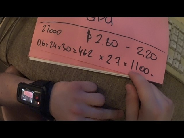 Окупаемость Б У фермы для майнига Zcash=EXP не = ETH на двух видеокартах 280X 2.5 $ в день