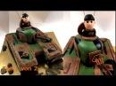 Panzer 3D Torte Teil 1 von 2 tank cake I Einfach Backen - Marcel Paa