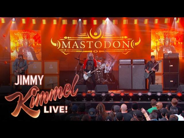 Mastodon Performs Show Yourself
