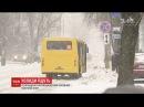 В Україну прийшли сильні морози