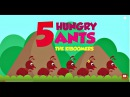 Five Hungry Ants Song for Kids | Picnic Song | Ant Songs for Children | The Kiboomers