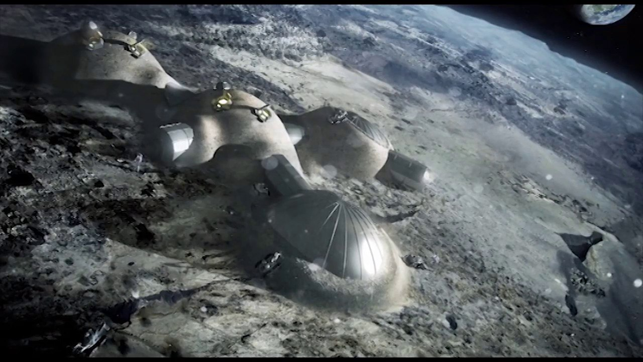 тоннели в луне