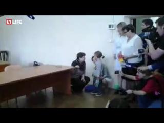 Изъятого из секты 5-летнего Якова передают бабушке в Смоленской области