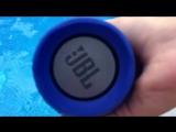 Водонепроницаемая беспроводная колонка JBL CHARGE2+ тест водонепроницаемости