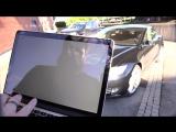 Видео дня: хакеры угнали автомобиль Tesla с помощью смартфона