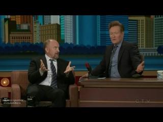 Луи Си Кей у Конана ОБрайена (01.11.2016) Озвучка RumbleLouis CK on Conan (01.11.2016)