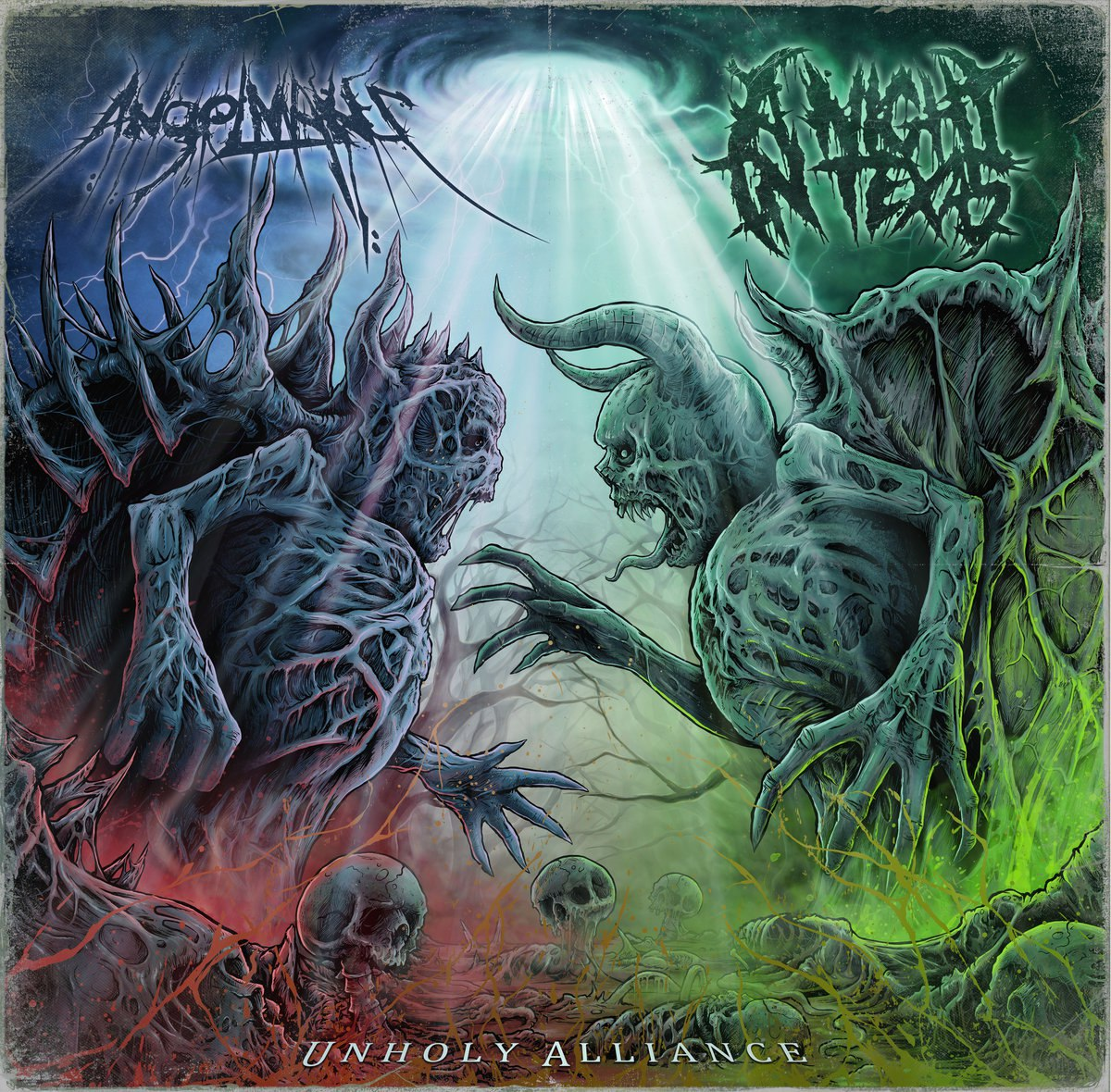 AngelMaker & A Night In Texas - Unholy Alliance [Split EP] (2016)