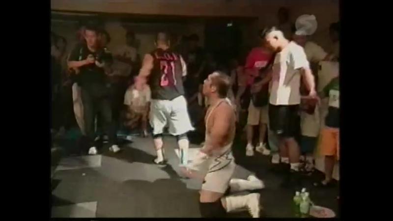 Black Buffalo, Daio QUALLT, Dick Togo vs. Super Delfin, Tsubasa, Yoshito Sugamoto (Osaka Pro - Natsuyasumi! 2000)