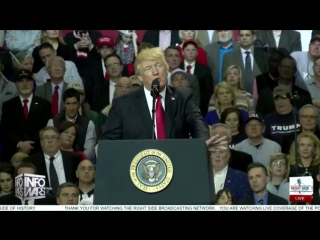 Trump lays waste to globalism to fired up crowd_ louisville rally