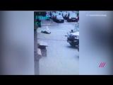 Момент убийства экс-депутата Вороненкова. Видео с камер наблюдения