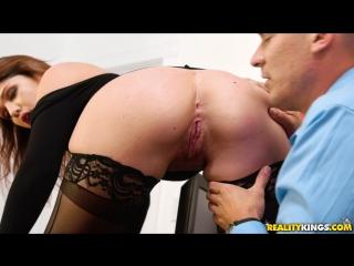 April Dawn (My Busty Secretary)[2017, Big Tits Worship, Blowjob, CumOnTits, Doggystyle, Handjob, Office, HD 1080p]