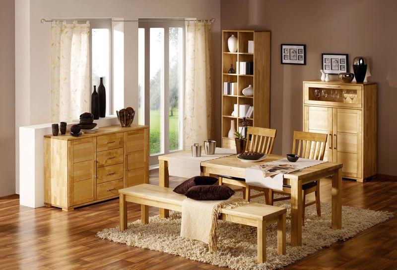 Разбираем плюсы и минусы мебели из массива дерева.